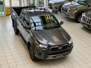 2021 Toyota Hilux Double Cabine Grey Metallic 001