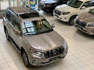 2021 Toyota Land Cruiser 150 Tec Edition Grey 001